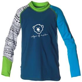 Isbjörn Sun - T-shirt manches longues Enfant - bleu